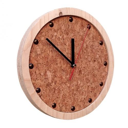 TOCK Wall Clock from natural materials | noThrow Design