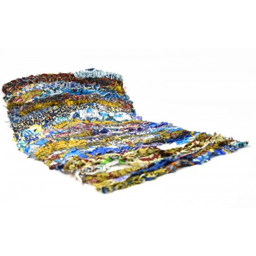 Upcycled Patchwork Rug 1 made of Clippings | reditum