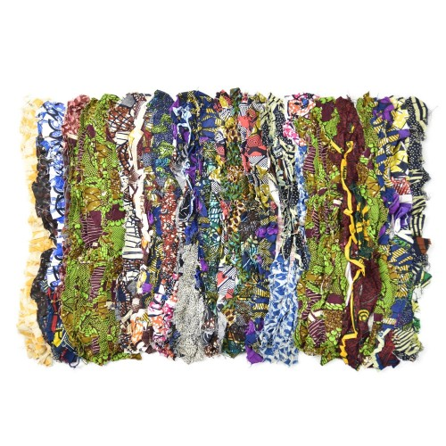Upcycled Rag Rug 3 made of textile leftovers | reditum