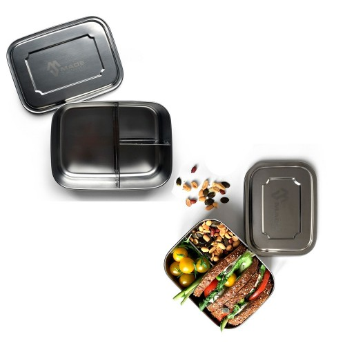 Trio Lunchbox made of Stainless Steel | Made Sustained