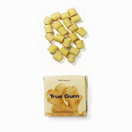 Plastic-free Chewing Gum Ginger & Turmeric | True Gum