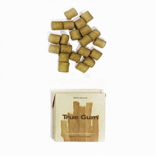 True Gum Liquorice & Eucalyptus vegan chewing gum
