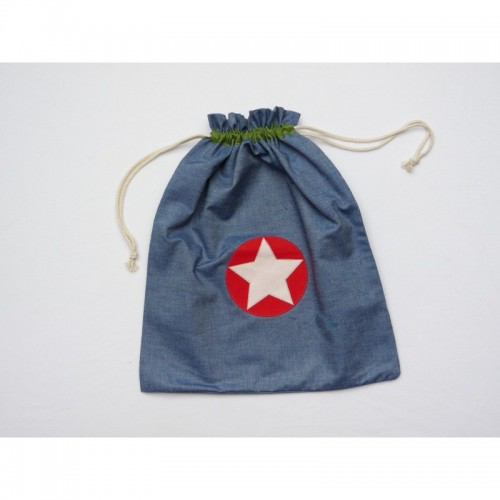 Cloth Bag – Gym Bag STAR made of Organic Cotton | Ulalue