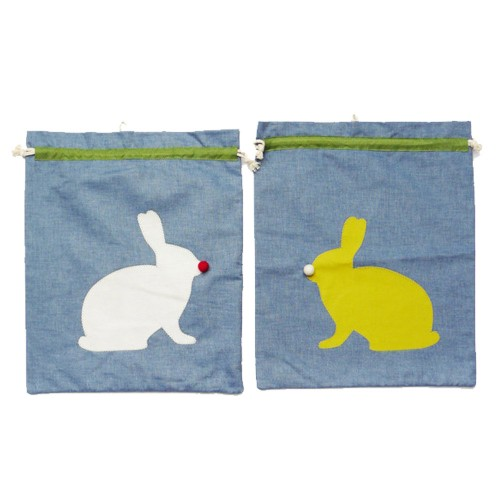 Kids Gym Bag Bunny made of Organic Cotton | Ulalue