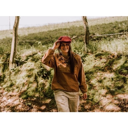 Pull-on Outdoor Jacket Camel, EtaProof Organic Cotton » Ulalue