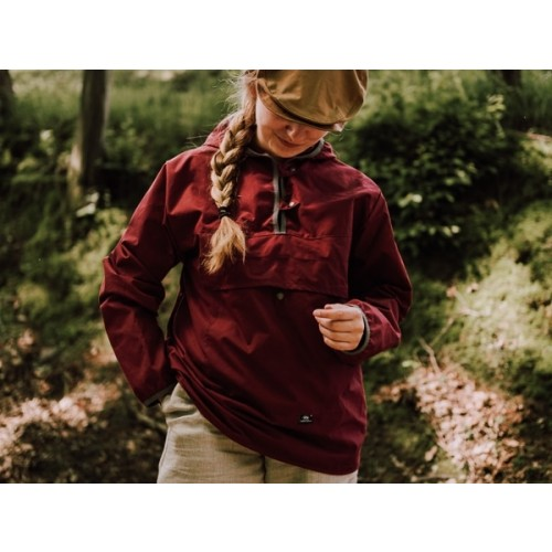 Pull-on Outdoor Jacket with Hood Berry, EtaProof » Ulalue