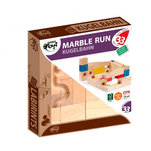 VARIS Marble Run Basic Set – wooden toy