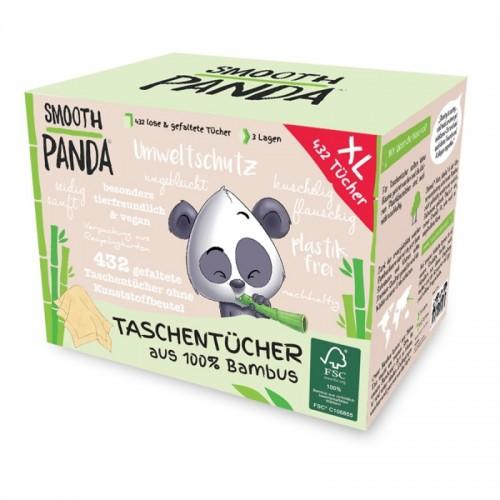 Vegane Bambus Taschentücher – sanft & weich | Smooth Panda