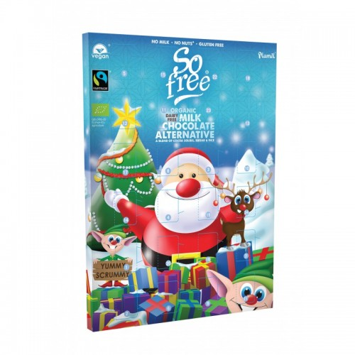 Plamil So free Vegan Milk Chocolate Eco Advent Calendar