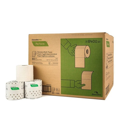 100procenteco Toilet Paper Cascades Pro Perform Moka