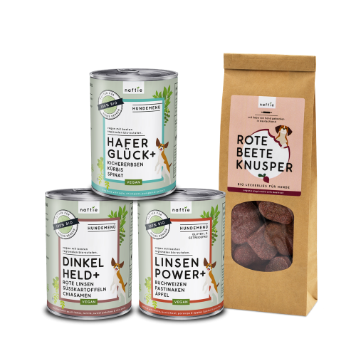 Vegan Dog Food Organic Trial Bundle small | naftie