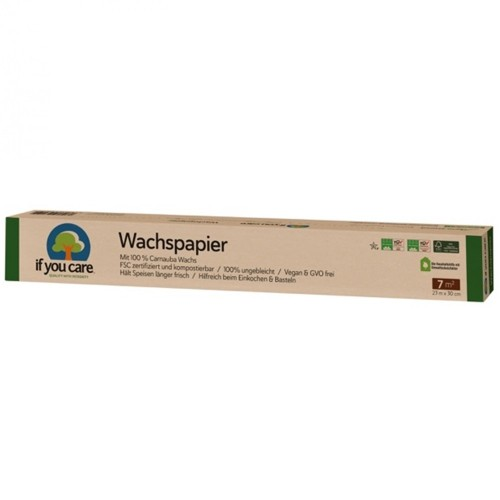 Vegan Unbleached Wax Paper » If You Care