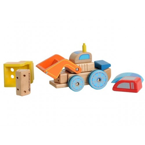EverEarth Interchangeable car made of FSC® wood - eco toy
