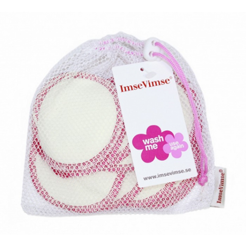 Washable Cleansing Pads in Organic Cotton | ImseVimse