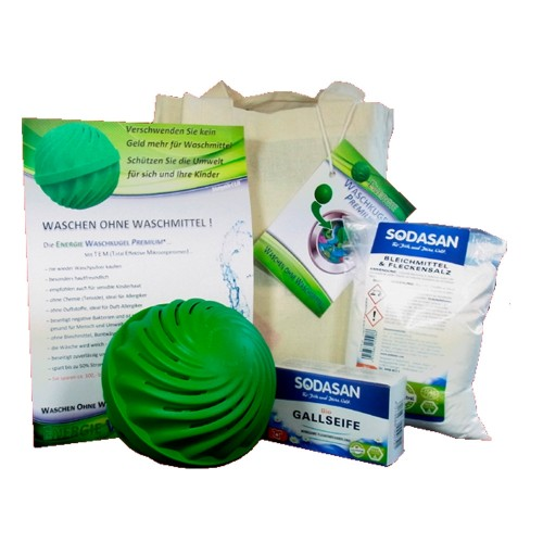 Sodasan EM Laundry Energy Ball Set – vegan washing agent