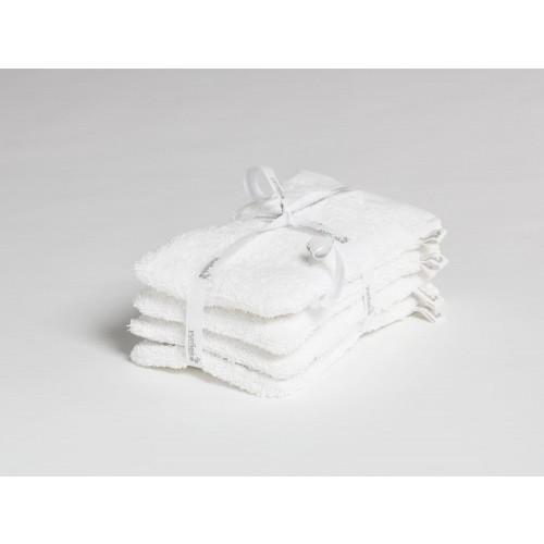 Waschlappen Pure White 4 Stk.