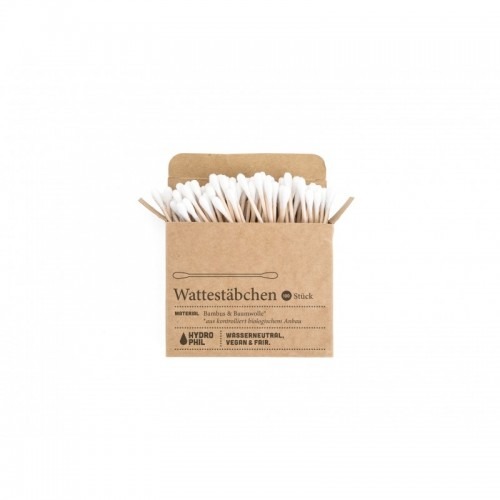 Organic Cotton Bamboo Buds, plastic-free | Hydrophil