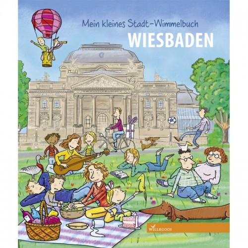Discover the German Town Wiesbaden - picture book   Willegoos