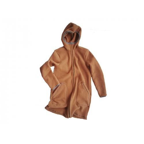 Eco Woolfleece Coat Amber for Women | Ulalue