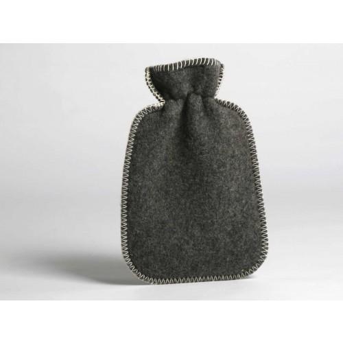 Wärmflaschenbezug Dark Grey / Light Grey
