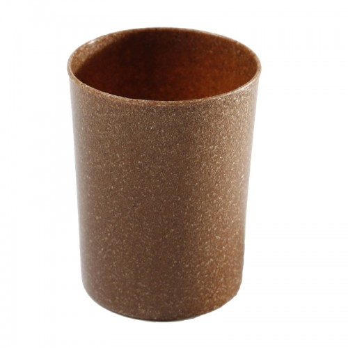 Saling Toothbrush Mug made of Liquid Wood, brown