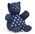 Eco Cuddly Toy Cat Bertrand of Organic Cotton