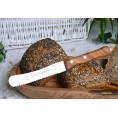 Bread Roll Knife Stainless Steel & Olive Wood