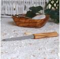 Nail File with Handle of Olive Wood | Olivenholz erleben