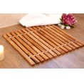 Bath Mat or Shower Mat made of Olive Wood 45x40 cm