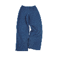 Women Crape Trouser of Organic Wool - pacific | Reiff