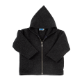 Organic Fleece Zip Hoodie, anthracite | Reiff