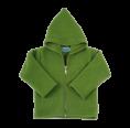 Organic Fleece Zip Hoodie, green | Reiff