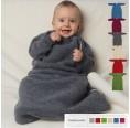 Organic Fleece Baby Sleeping bag with sleeves   Reiff