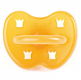 Hevea Crown Natural Rubber Pacifier Round Teat