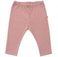 Baby Leggins Organic Cotton GOTS red-striped | Popolino