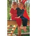 Eco Kids undershirt long-sleeved cherry red | Engel