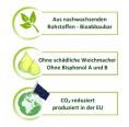 Eco-friendly food storage box made of bioplastics