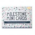 Eco-friendly Milestone Mini Cards in German