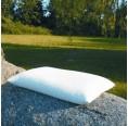 Sofa Cushion + organic spelt + rubber 40x40 cm