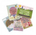 Milestone Baby Cards English