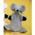 Hand Puppet Mouse Fred organic cotton | Kallisto