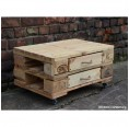 Chest of Drawers made of upcycled Euro Paletts