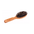 Olivewood Hairbrush with Boar Bristles