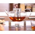Teapot OPUS with glass strainer