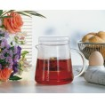 Teepot FOR TWO 0.4 l with Glass Strainer | Trendglas Jena