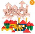 Fröbel additional building blocks – natural or colourful