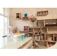Upcycled pallets shelf MOVEO. VIA 40.30 | reditum