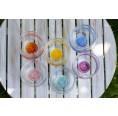 Nature's Design Mythos Chakra Affirmation Glasses Set of 6 German