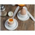 Vegan Egg spoon of bioplastics – 2-part set