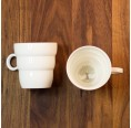 Shinno Tea & Coffee Mug - Porcelain Cup | Nature's Design